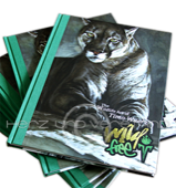 "Produktabbildung Bildband: ""Wild & Free - The Wildlife Art of Timo Wuerz"""